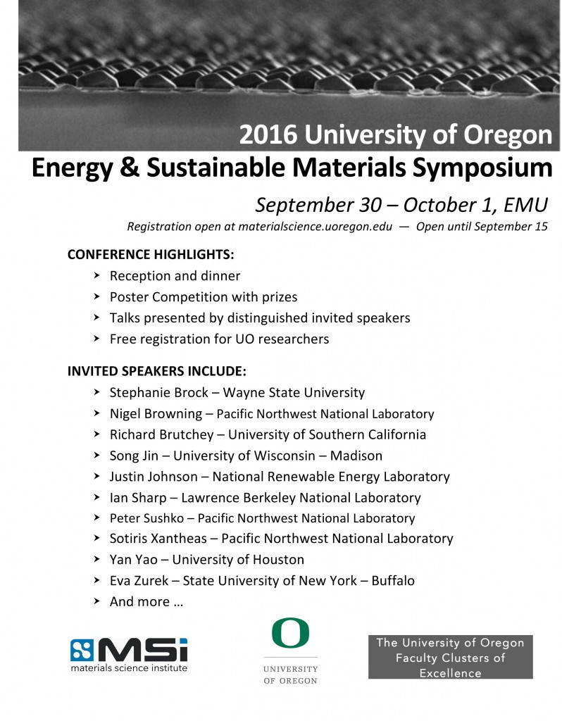 Microsoft Word - Energy and Sustainable MaterialsSymposium Flyer